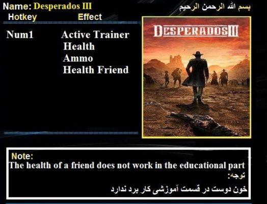 Desperados 3 Trainer 1 3 6 Latest Version